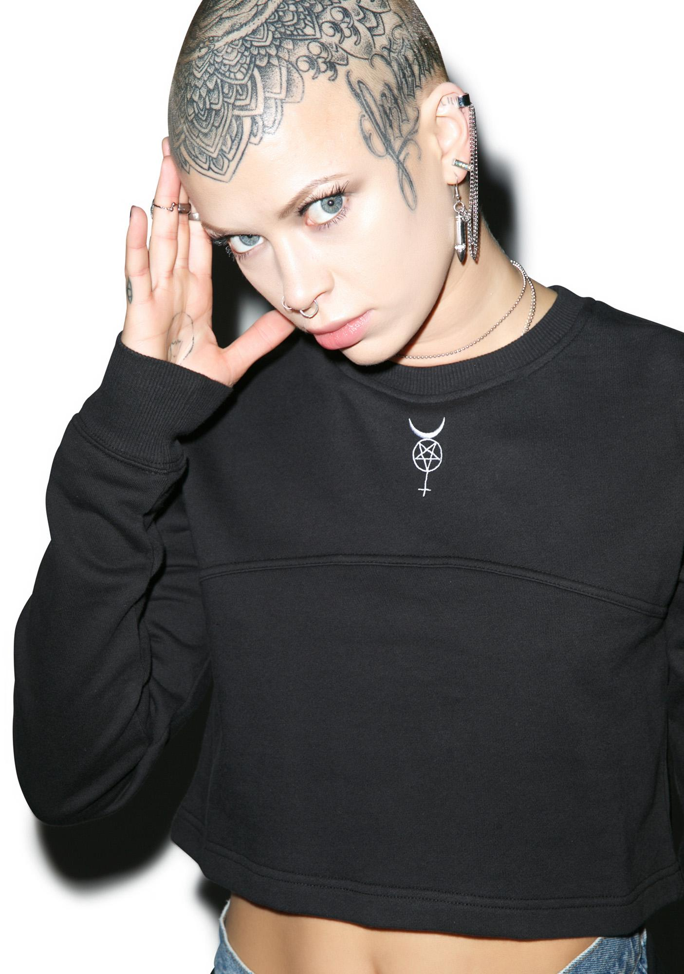 Black Scale Vesna Crewneck