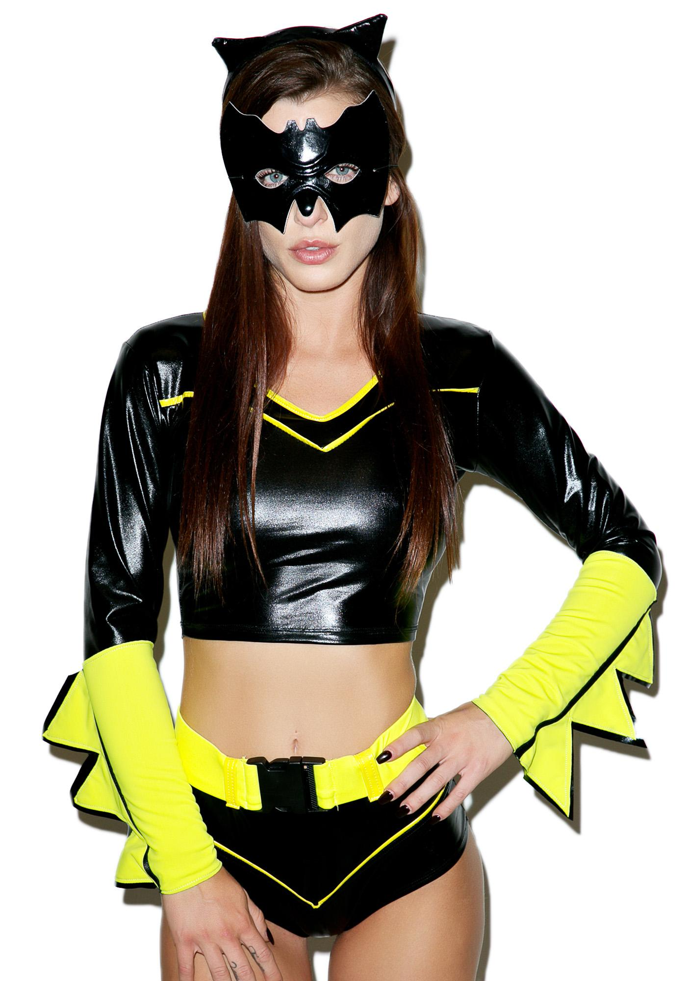 Action Packed Supergal Costume