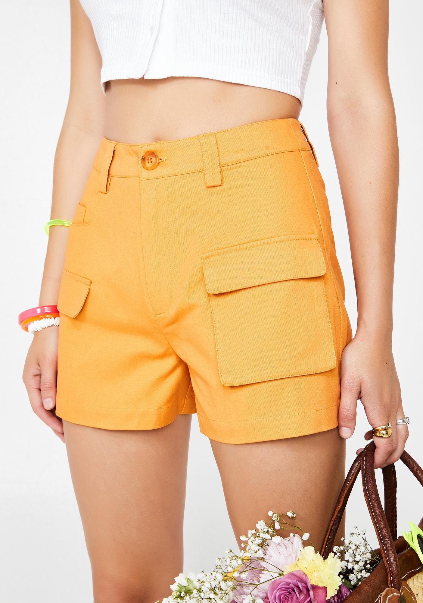 Glamorous Beamin' Baby High Waist Shorts