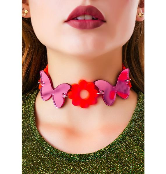 Marina Fini Madame Butterfly Dreamz Choker