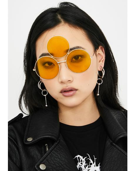 Yellow Memorium Sunglasses