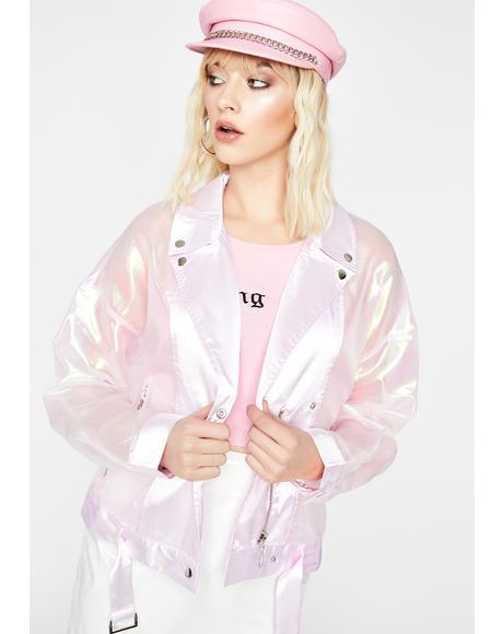 Magic Ride Iridescent Moto Jacket