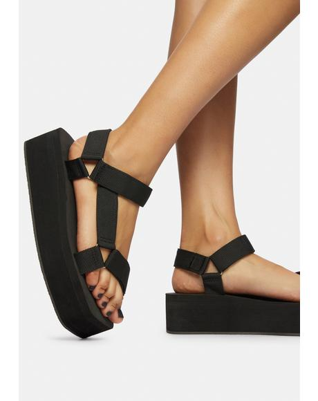 Wicked Gonna Getcha Platform Sandals