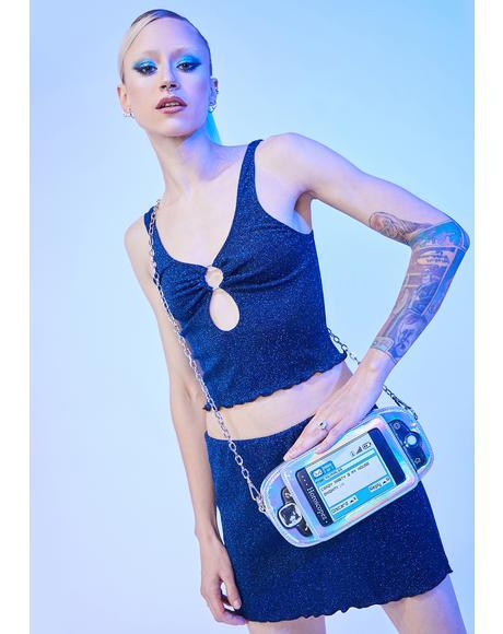 Miss Communication Crossbody Bag