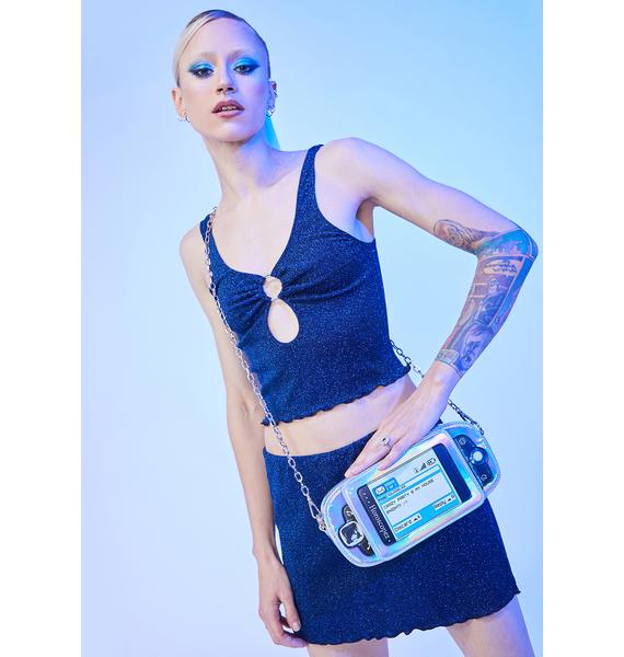 HOROSCOPEZ Miss Communication Crossbody Bag
