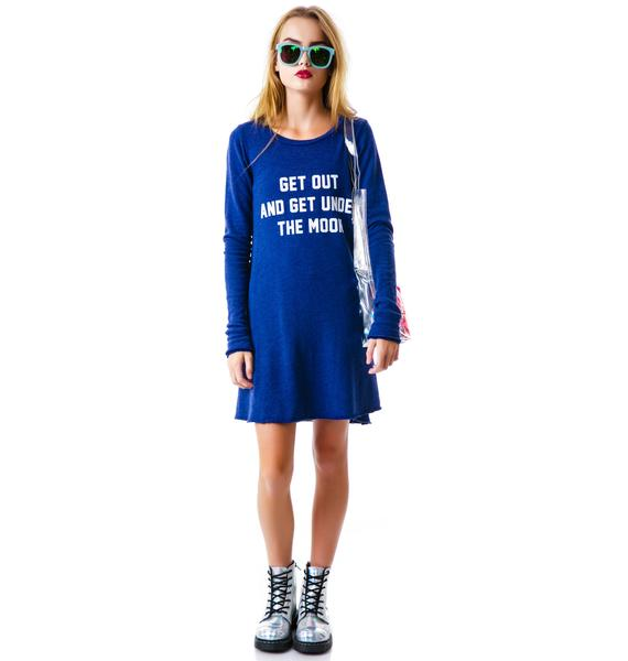 Wildfox Couture Get Under the Moon Grunge Girl Dress
