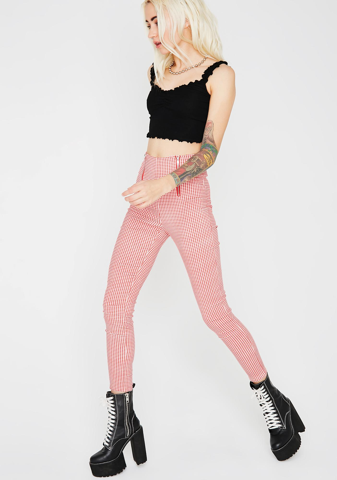 Not Your Girl Gingham Pants