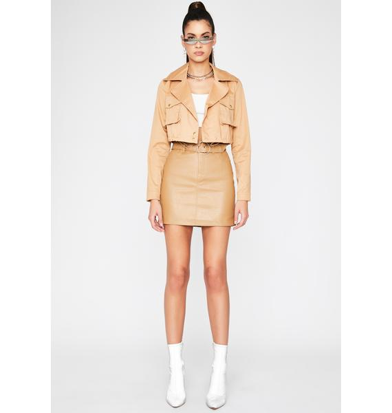 Boss Of Me Cropped Jacket