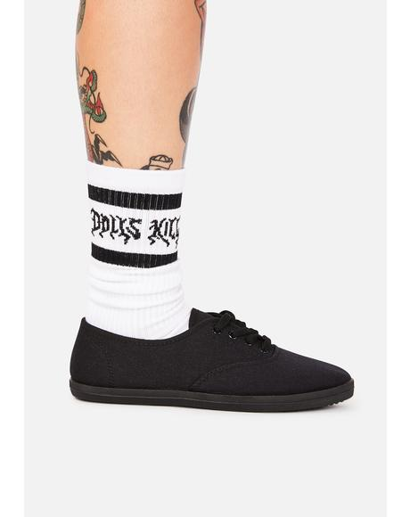 Blackout Change Your Mind Low Top Sneakers