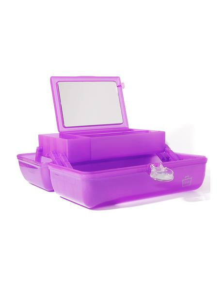 On The Go Girl Makeup Case