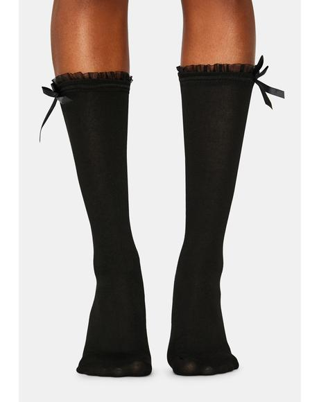Love This For Me Knee High Socks