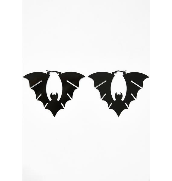 Blood Sucker Bat Earrings