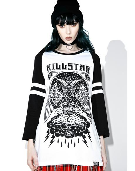 In Like Sin Raglan Top