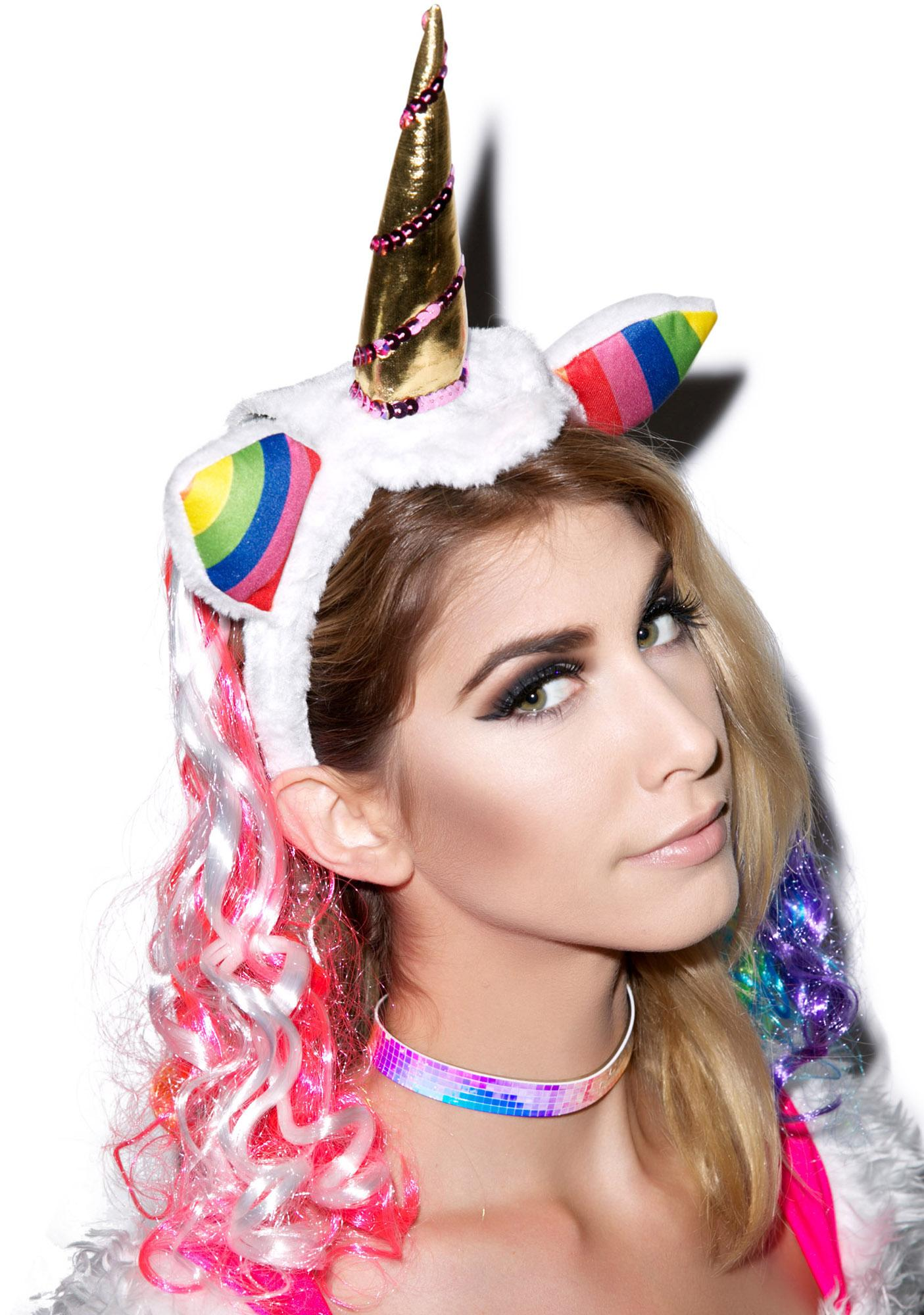 Unicorns Are Real Headband