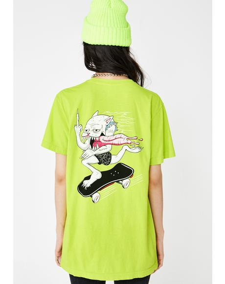 Skate Nerm Graphic Tee