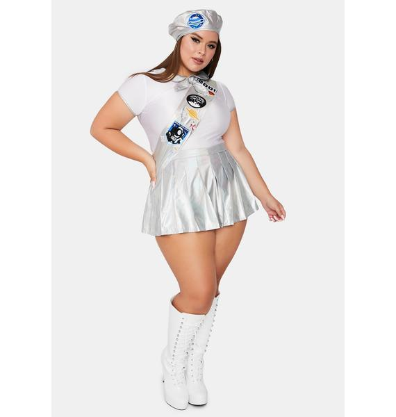 Dolls Kill Stellar Space Cadet Costume Set