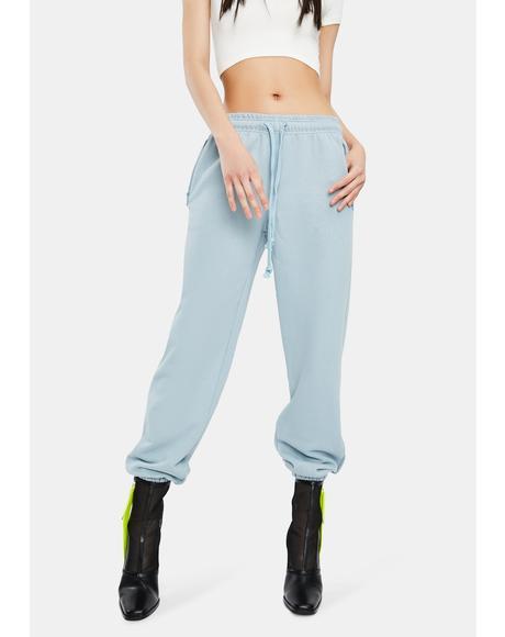Blue Alessia Sweatpants
