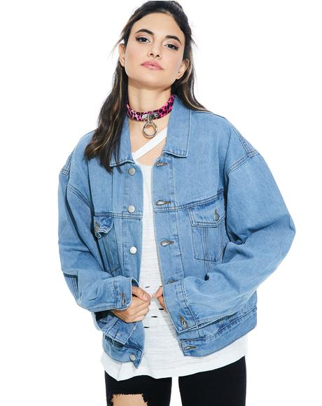 Let'z Ride Denim Jacket