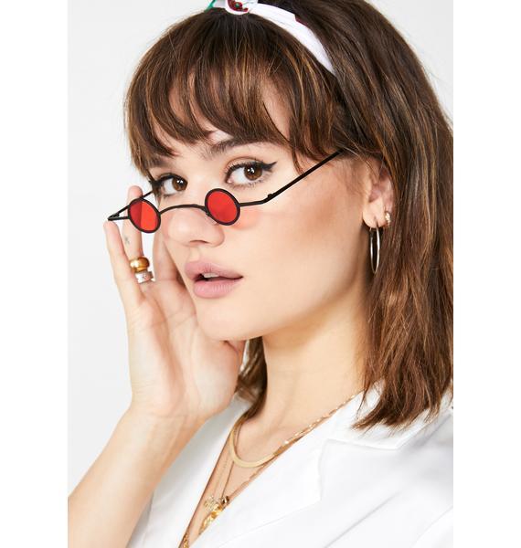 Replay Vintage Sunglasses Devil Sharp Eye Mini Sunglasses