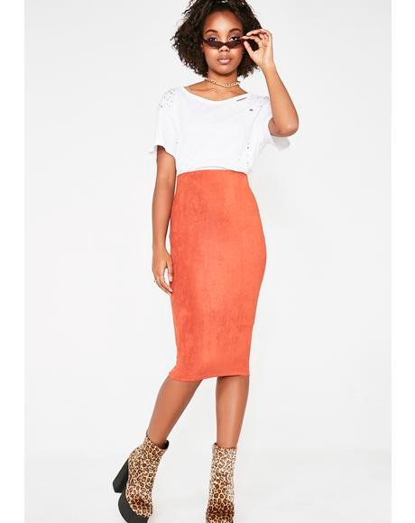 Bombshell Official Midi Skirt