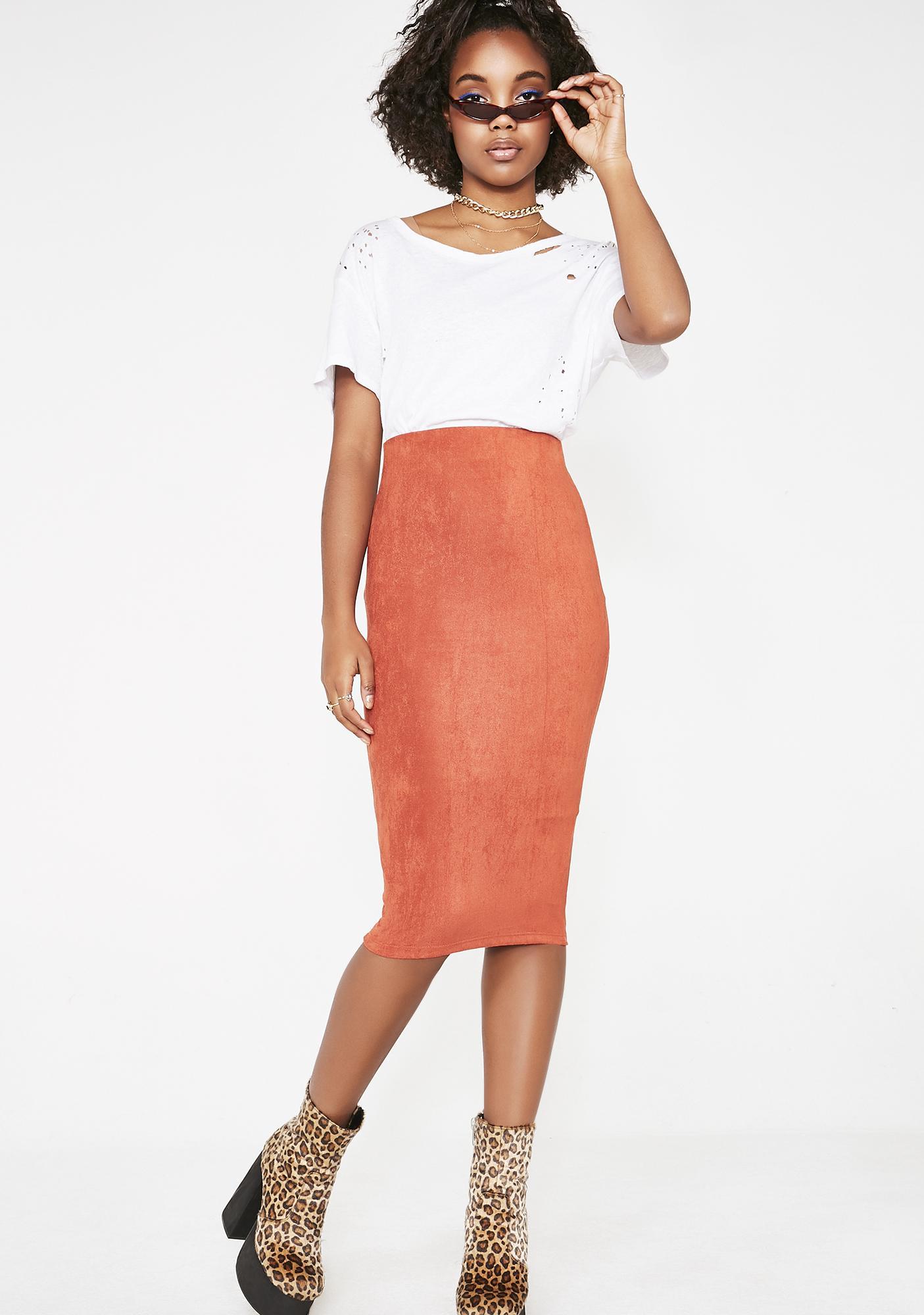 Bombshell Official Midi Skirt