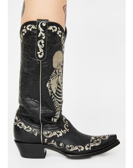 Selfie Cowboy Boots