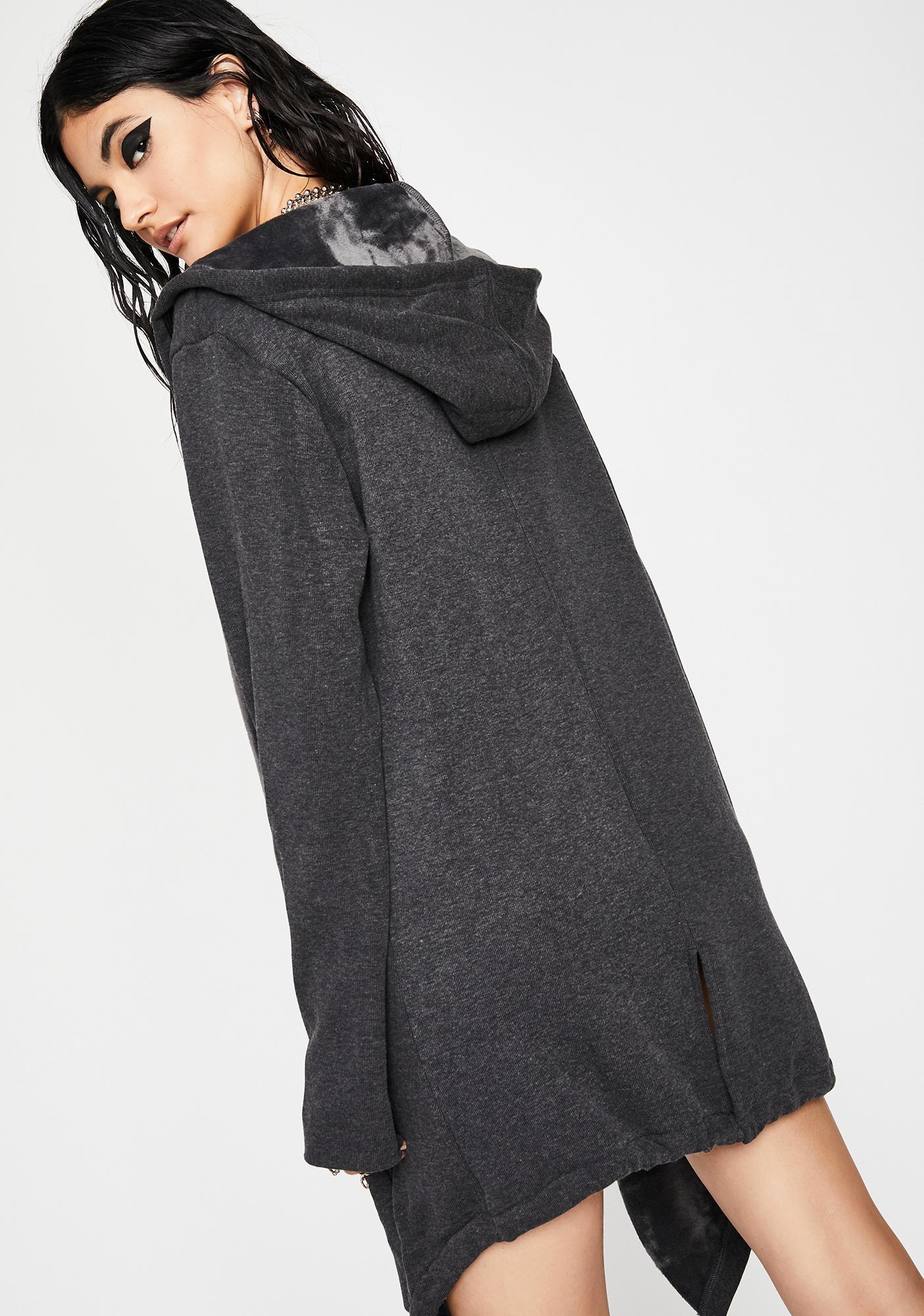 Dark Daze Hooded Poncho