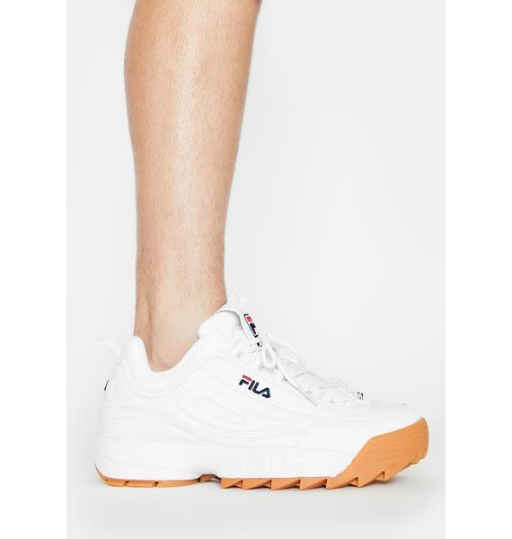 Fila Unisex Disruptor 2 No-Sew Sneakers