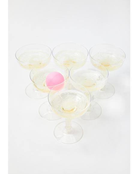 Prosecco Pong Game Set
