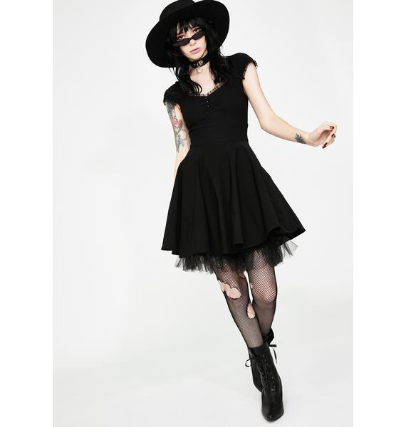 Killstar Aisling Party Mini Dress