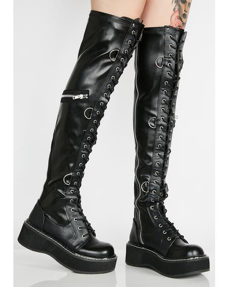 Madame Anarchy Bondage Boots