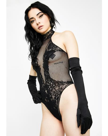 Harlot Heartbreak Lace Teddy