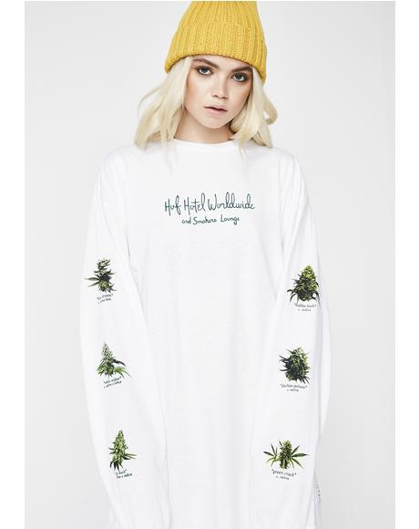 Tropical Plants Long Sleeve Tee