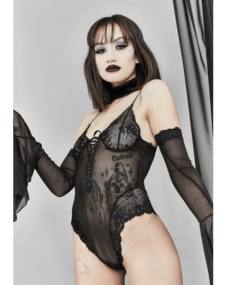 Ancient Incantations Lace Bodysuit