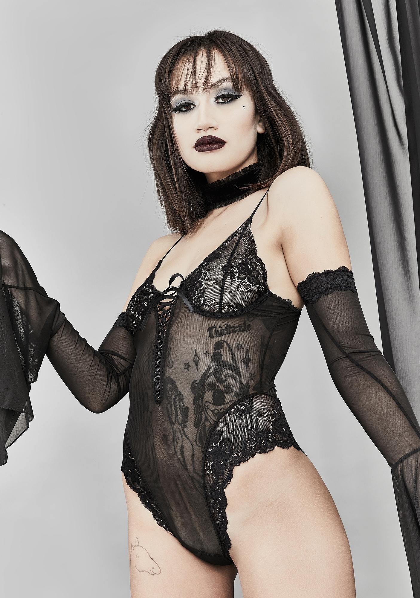 Widow Ancient Incantations Lace Bodysuit