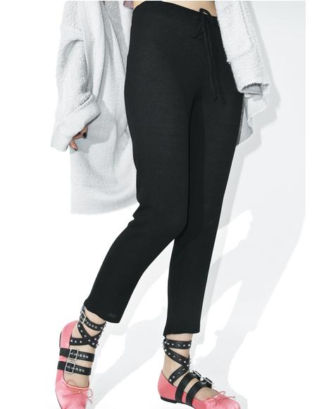 Funny Face Cropped Pants