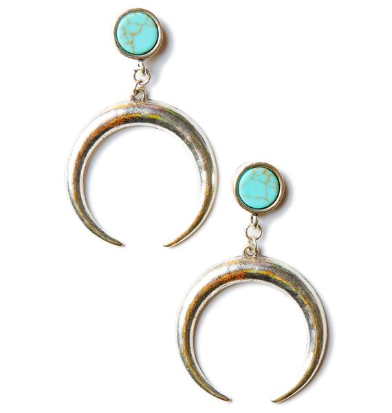 Dear Summer Crescent Earrings
