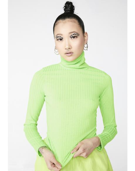 Atomic Babe Turtleneck Top