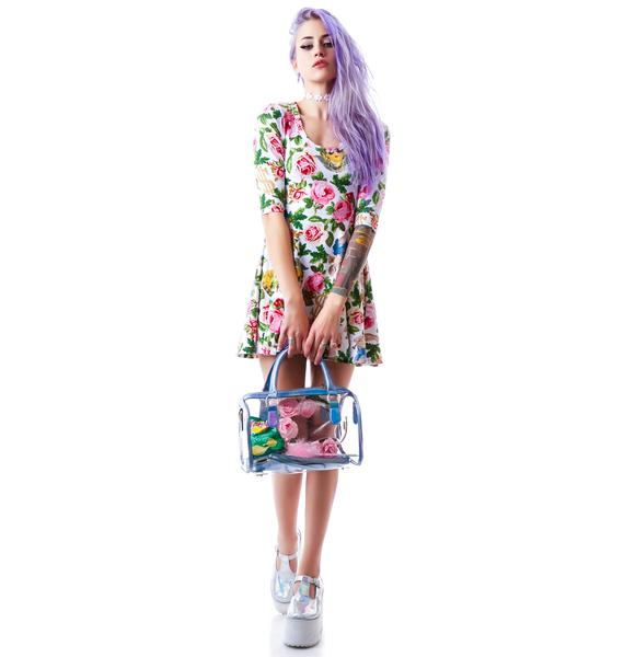 Joyrich Angelic Rich Floral Skater Dress
