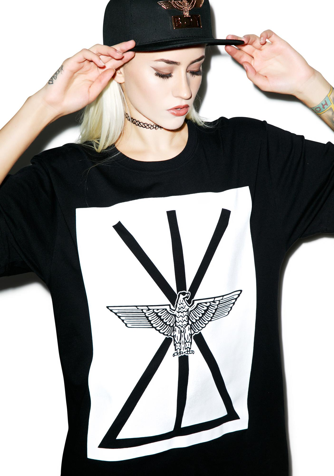 BOY London Union Eagle Standard Box Tee