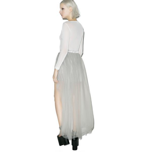Sterling Sheer Maxi Skirt