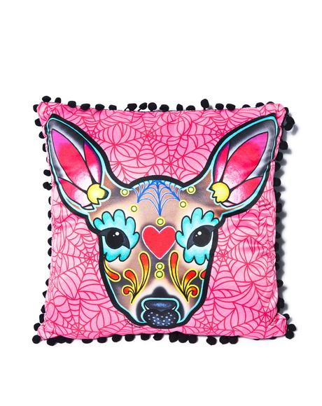 Deer Woodland Pillow