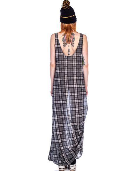 1983 Grunge Maxi Dress