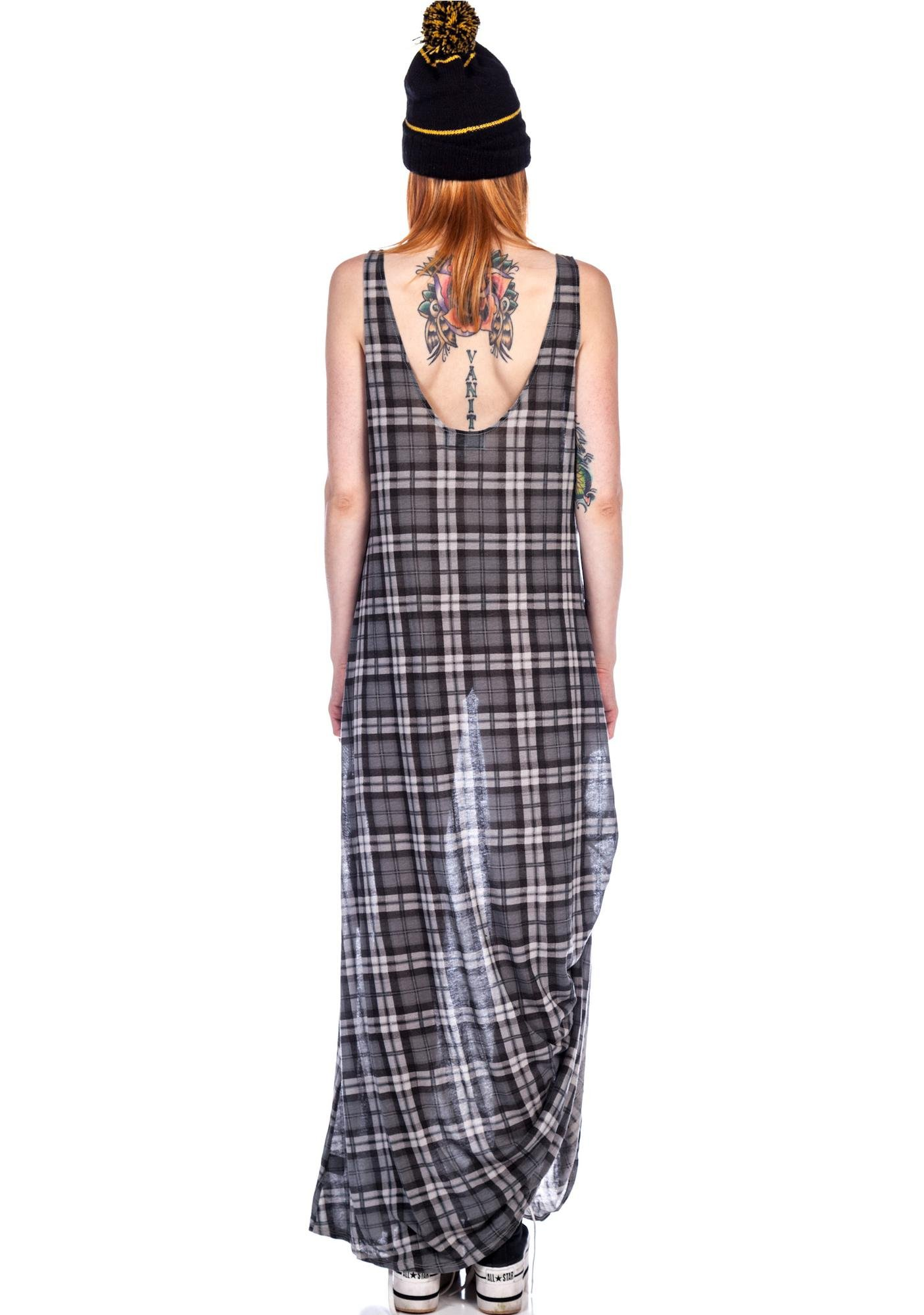 Wildfox Couture 1983 Grunge Maxi Dress