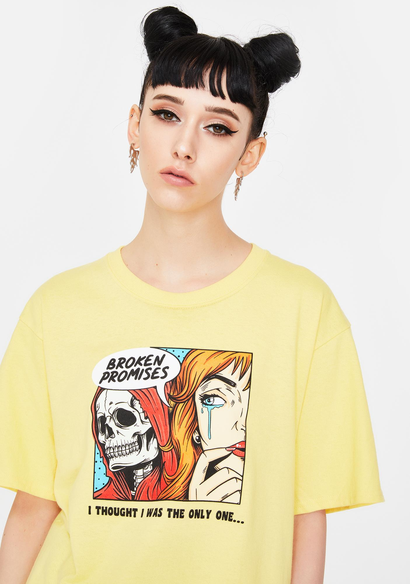 BROKEN PROMISES CO Only One Graphic Tee