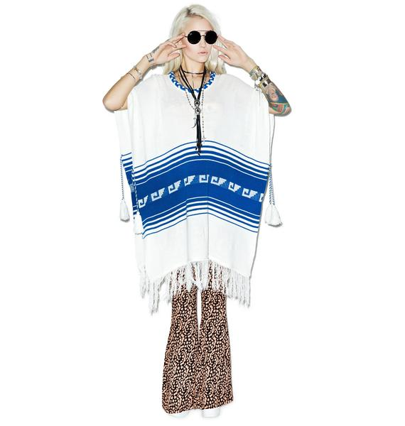 Wildfox Couture Frida Traveler Fringe Sweater
