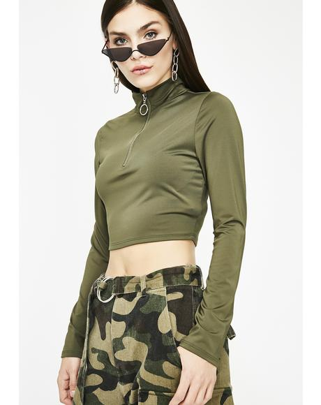 Kush Savage AF Crop Top