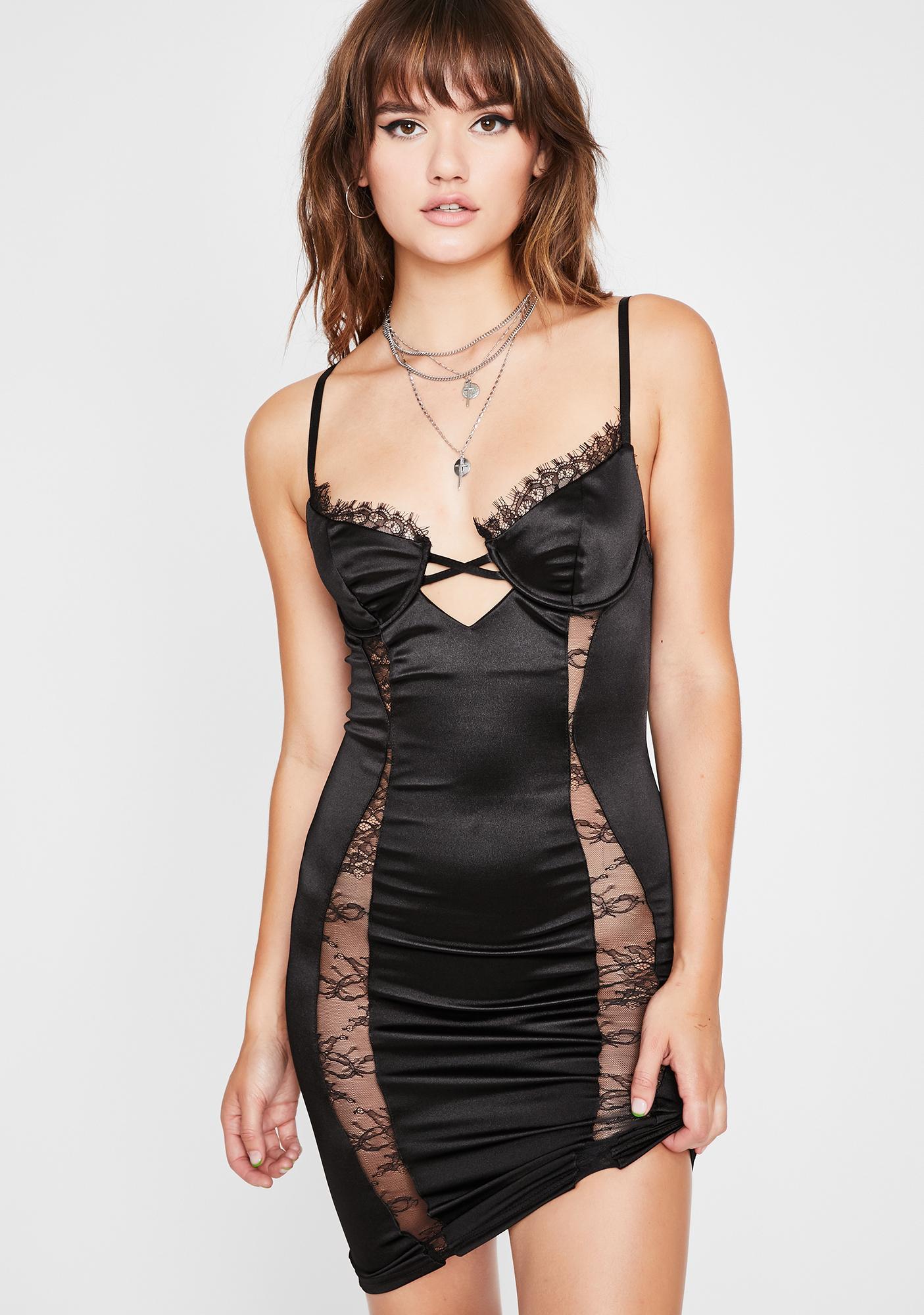 Night Frisky Lil Freak Bodycon Dress
