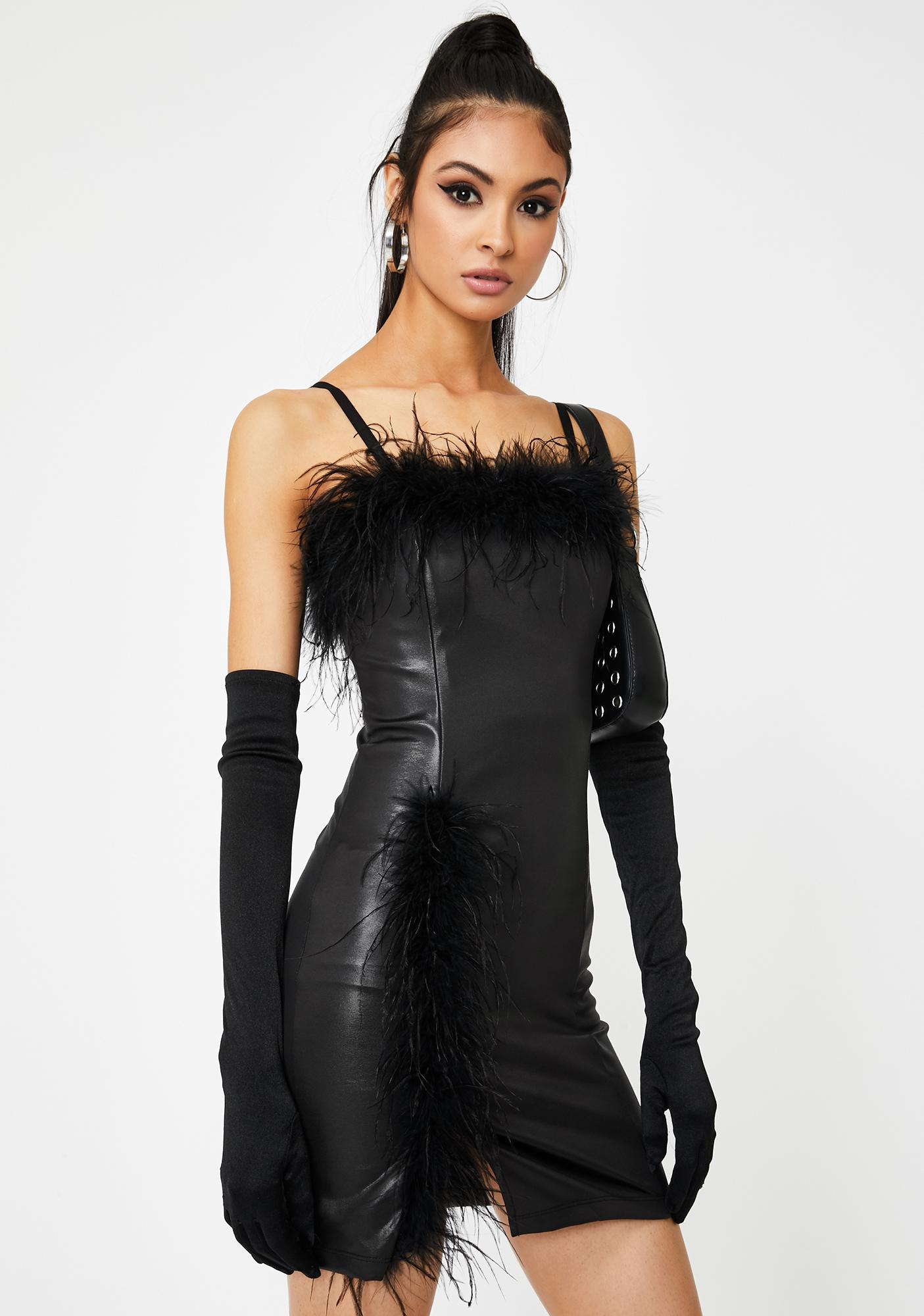 Kiki Riki Night Call My Agent Mini Dress
