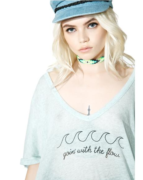 Goin' With The Flow Tropezienne Tee
